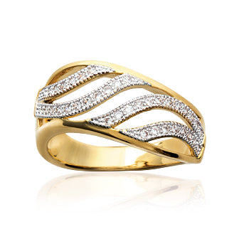 Waves Ring - Fifi Ange