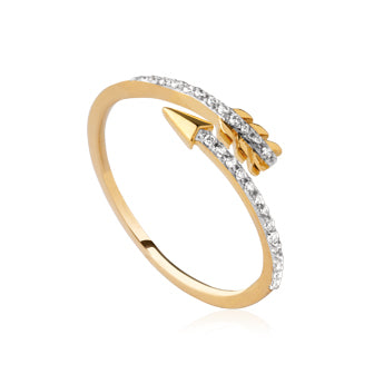 Cupid's Arrow Ring - Fifi Ange