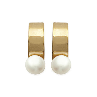 Pearl on a Cuff Earrings - Fifi Ange