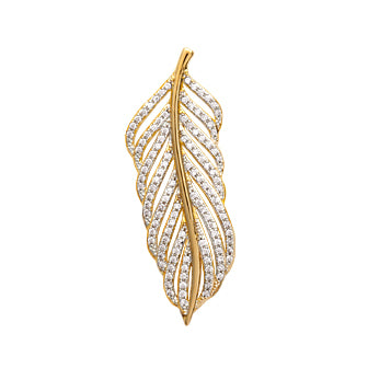 Feather Pendant - Fifi Ange