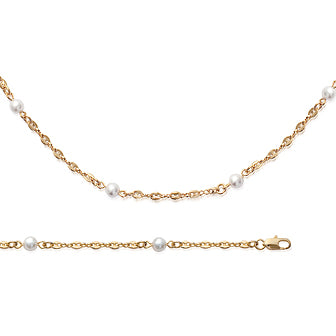 Pearls Chain Bracelet - Fifi Ange