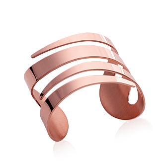 Rose Cuff Bangle - Fifi Ange