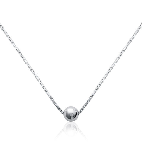 Ball on a Chain Necklace - Fifi Ange