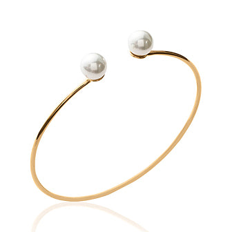 Gap Pearls Bangle - Fifi Ange
