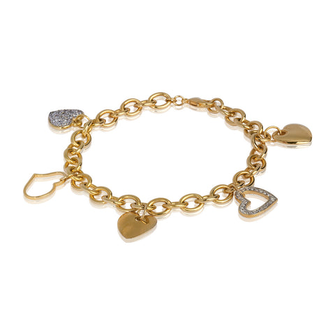 All Hearts Charm Bracelet