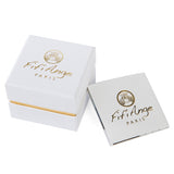 Parallel Twist Pearl Ring - Fifi Ange