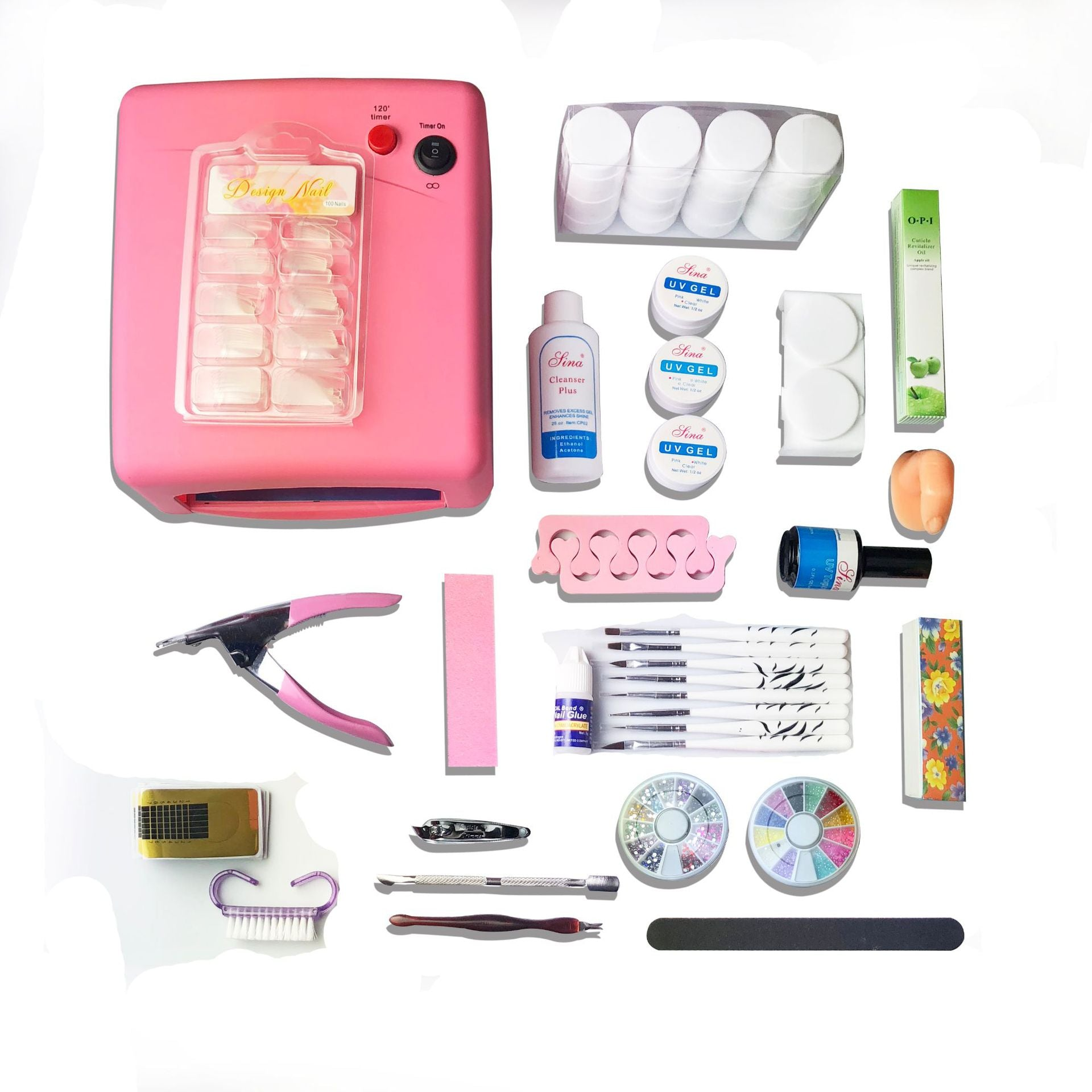 Beginner's special UV light therapy set