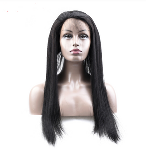 Real 360 Hair Straight Block Lace