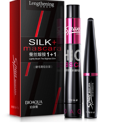 Double Tube Silk Grafted Fiber Mascara Set