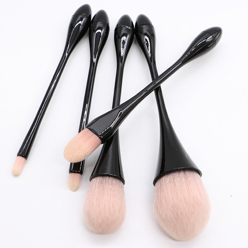 5 Pieces Small Waist Makeup Brush Set