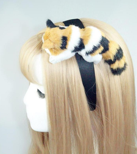 Hang On Kitty Hairband