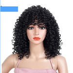 Fluffy Small Volume Explosion Head Models Wigs