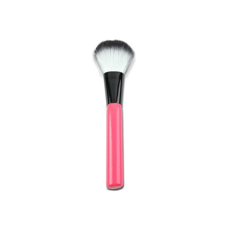 Striped Cylinder Makeup Brush Set