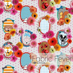 Canvas Fabric Fever Cherry Picking 21,90/m