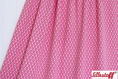 Bio-Strick-Jacquard barberry fruit pink 22.-/m