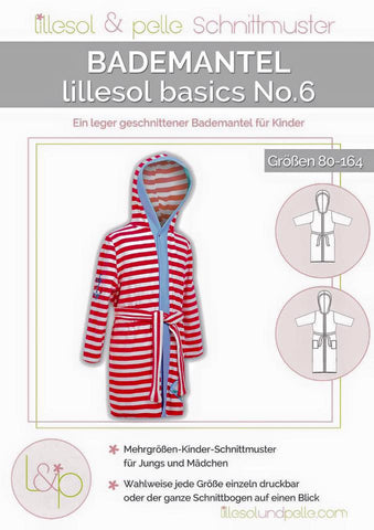 Bademantel Lillesol basics No.6 € 10,90