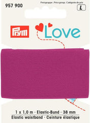 Prym Love Elastic- Bund 38mm pink € 4,-