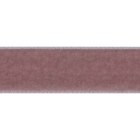 Samtband 9mm colonial rose