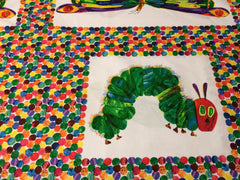 Eric Carle, The Very Hungry Caterpillar Encore Fabric Panel 20,-/m