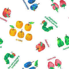Eric Carle, The Very Hungry Caterpillar, Weekday Tossed Fruits 20,-/m