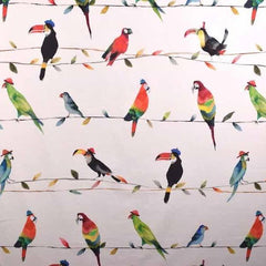 Homedeco Toucan talk paintbox Papageien 25.-/m