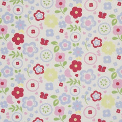 Homedeco retro floral chintz 25.-/m