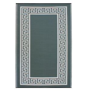 Athens 3x5 Rug Green & Cream