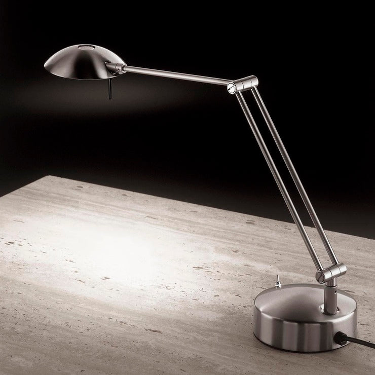 Chrome M-1137 Table Lamp