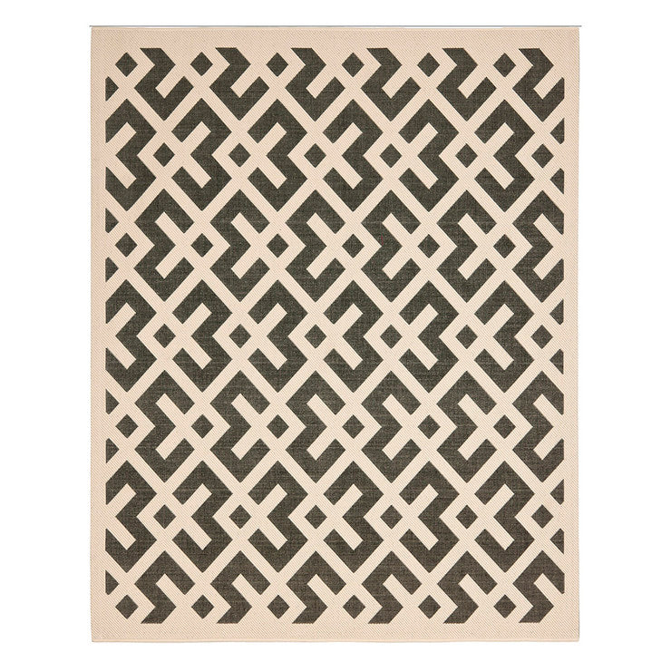 Isla Bella Rug 8x11 Black