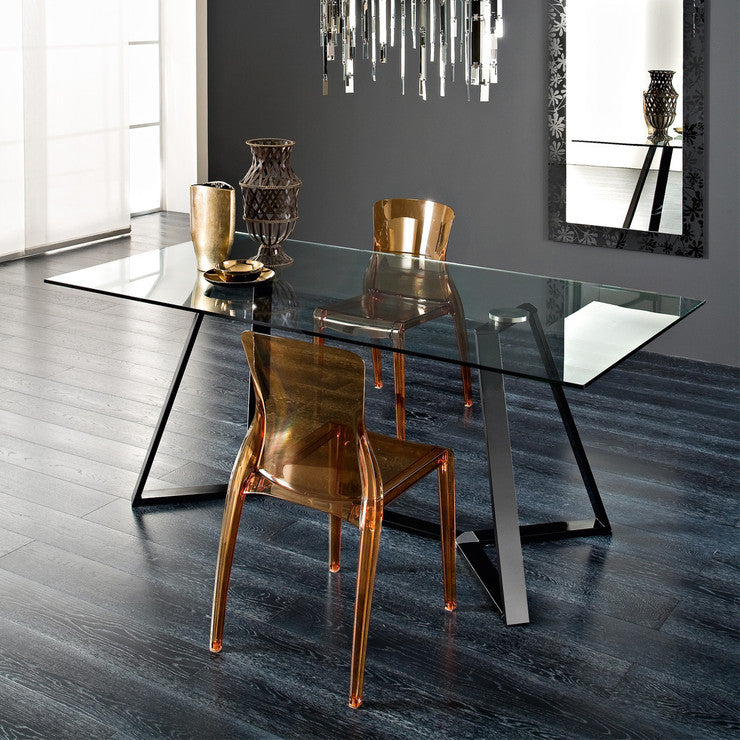 Archie-180 Dining Table Black