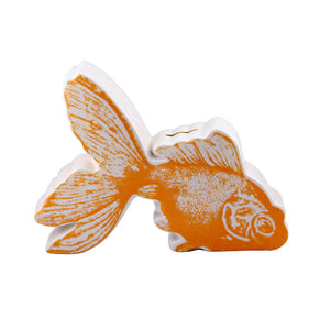 Goldfish Pictorial Coin Bank