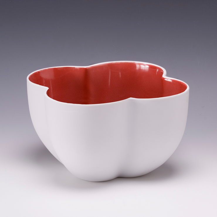 Red Lucky Bowl – Large