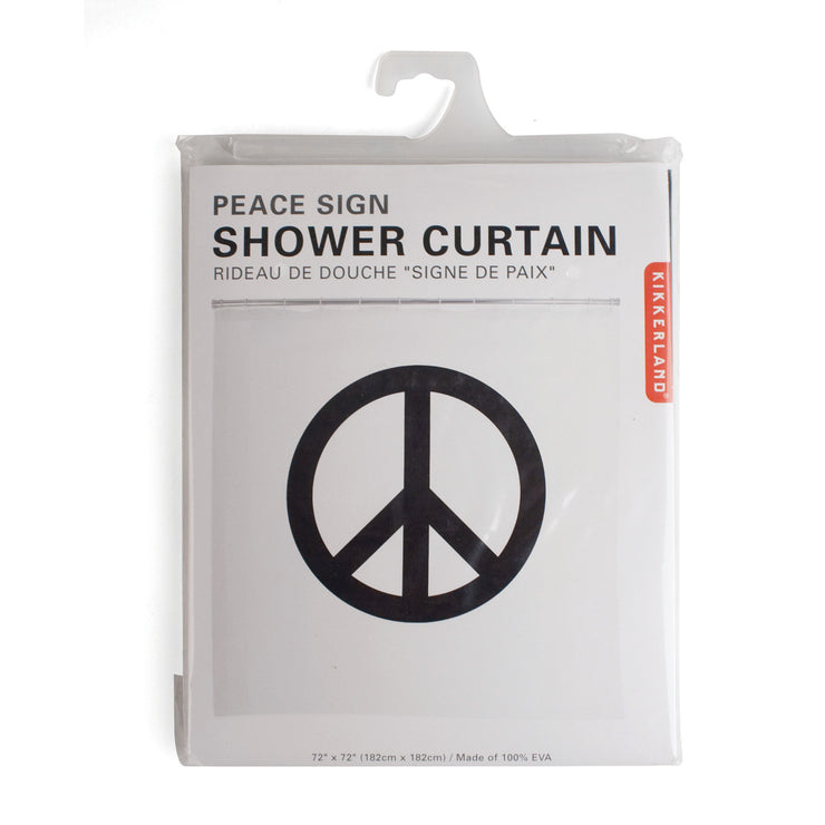 Shower Curtain Peace Sign