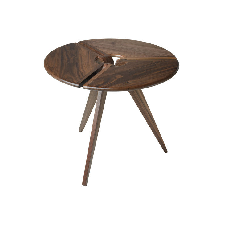 Cafe Table Walnut 34 Round