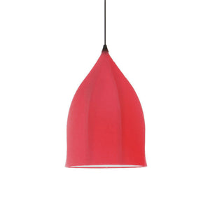 Dome Pendant Lamp Red
