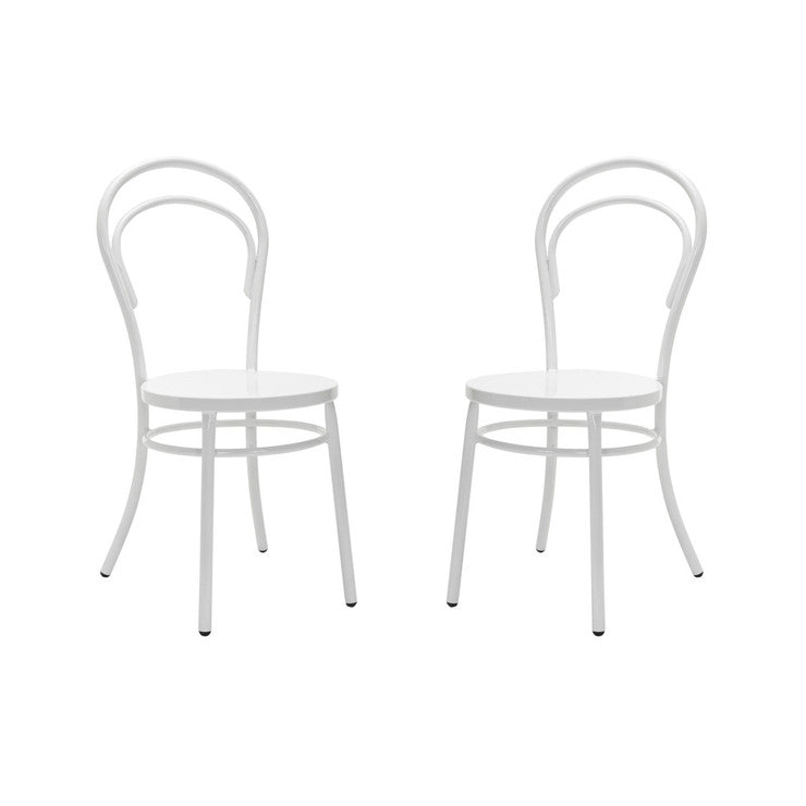 Gary Side Chair White Set Of 2