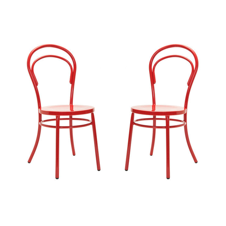 Gary Side Chair Red Set Of 2