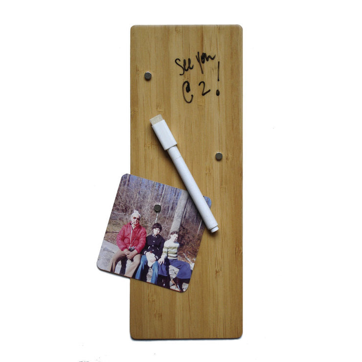 Dry Erase Magnet Board Bamboo