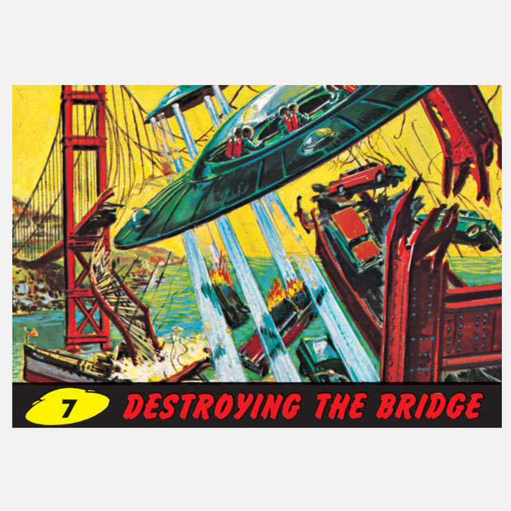 Destroy The Bridge 12x8