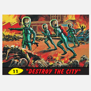 Destroy The City 12x8