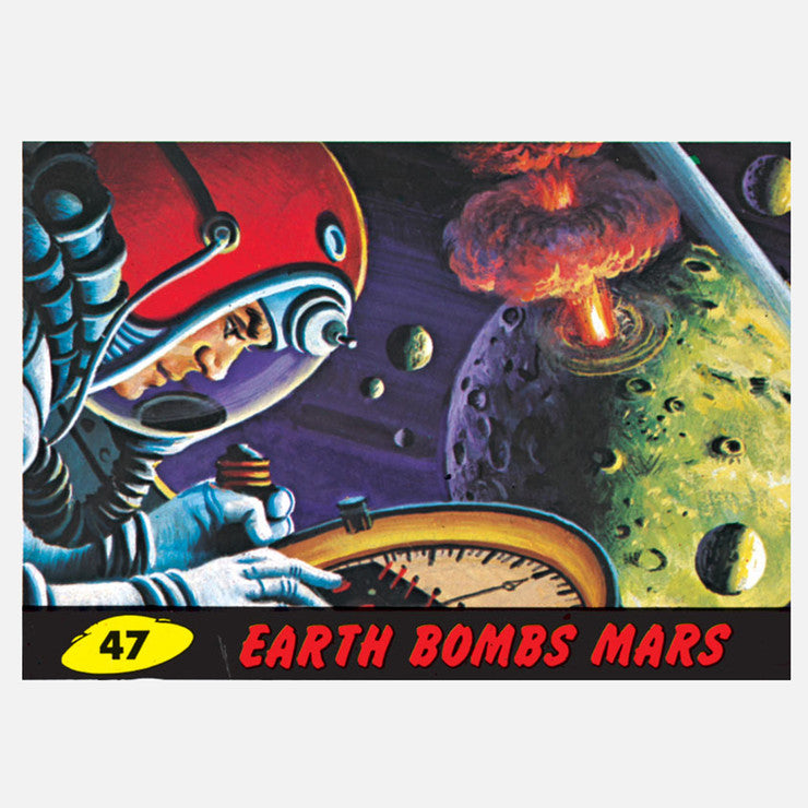 Earth Bombs Mars 36x25