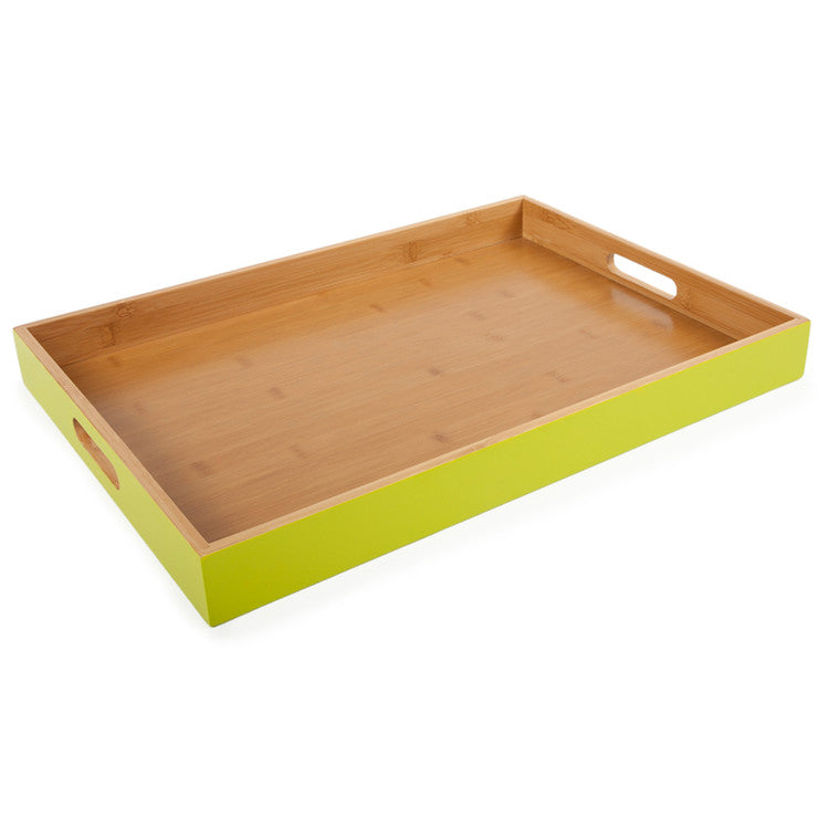 Classic Rectangle Tray Lime