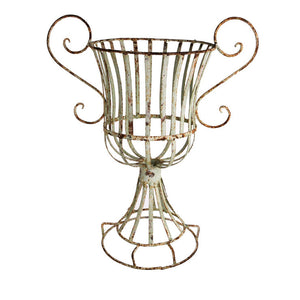 Iron Wire French Flower Urn
