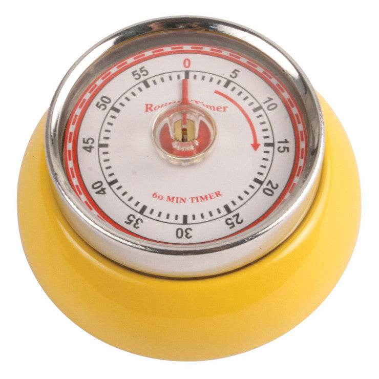 Magnetic Timer Yellow