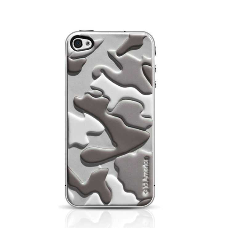 Gray Camo iPhone 4/4S Foam Pad