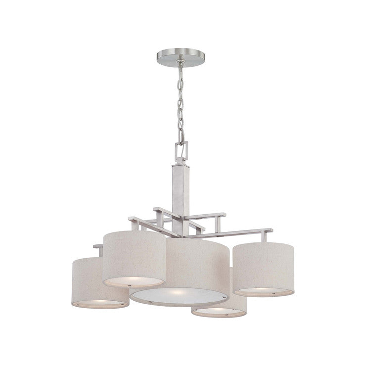 Percussion 5 Light Chandelier