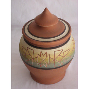 Sioux Covered Jar