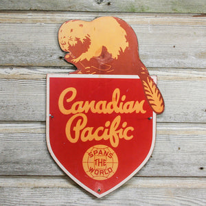Canadian Pacific Beaver Sign