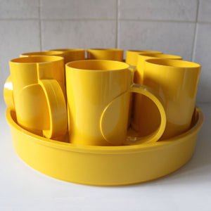 Dansk Tray Coasters and Mugs