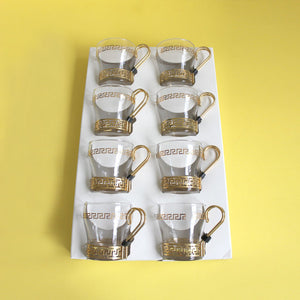 Continental Cups Set of 8